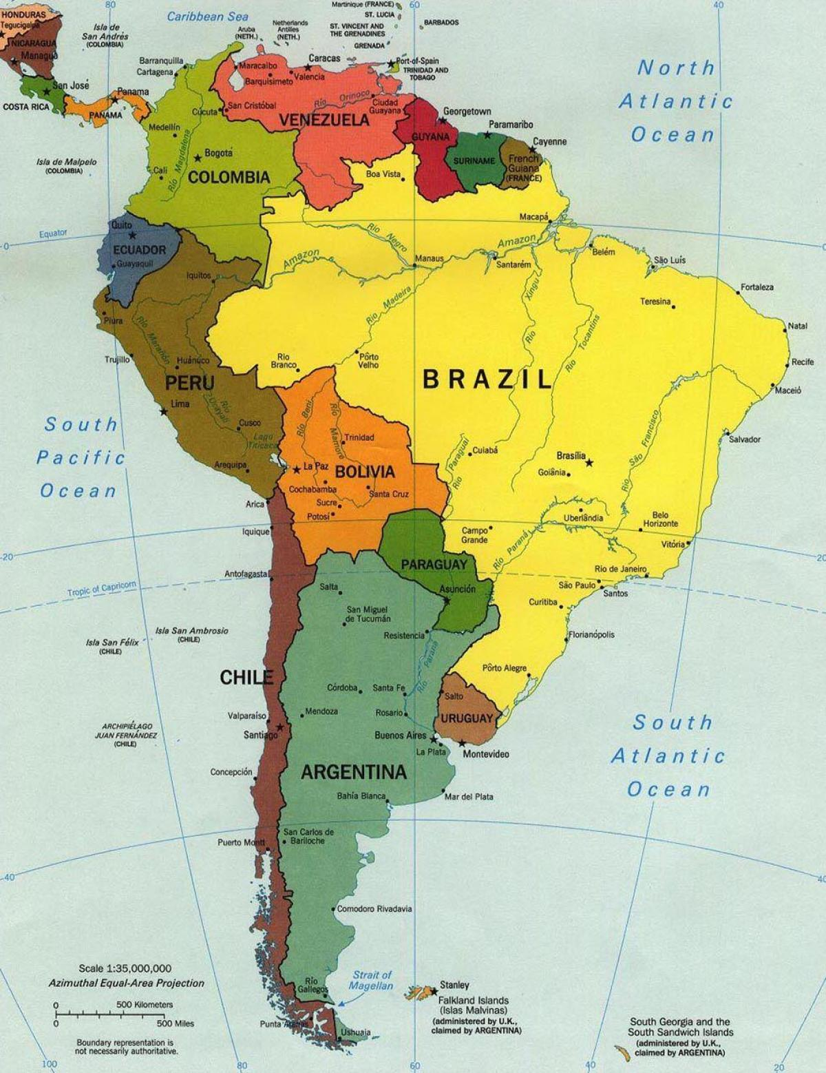 Map Of Spain Labeled.Labeled Map Of Brazil Map Of Brazil Labeled South America Americas